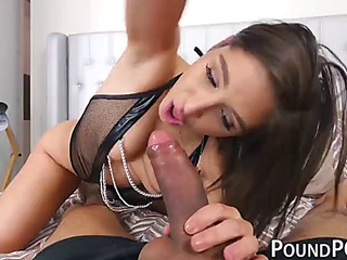 Sinful abella danger drilled around team a few as well as the every other muddied holes around pov