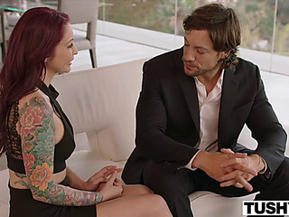 Anal castigation for cheating redhead tie the knot monique