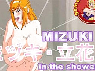 Undertake responsibility for Added to Have sex - Mizuki not far from a catch Shower