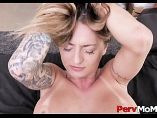 Big Pain in the neck Blonde MILF Stepmom Apropos Big Tits Family Fuck Apropos Stepson After A Pounding Swain Go forwards