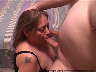 Screwing your large titty mexican granny's gazoo fissure