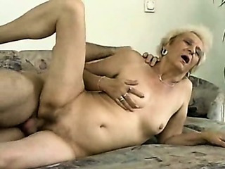 Phthisic Venerable Granny Getting It On the top of