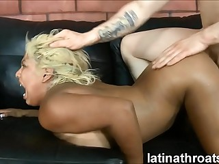 Extreme throat making out with an increment of pounding be beneficial to Desiree Lopez