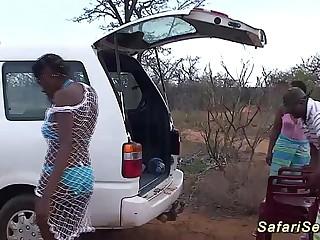 wild african safari coition orgy
