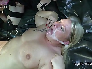 Unique, Kinky, way-out pervert! 2 Mega dirty sluts in action!