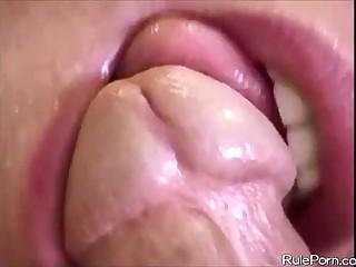 Blowjob With an increment of Cumshot Facial Compilation Feat. Amateurs