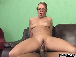 Kelly Leigh takes a BBC get ahead her son