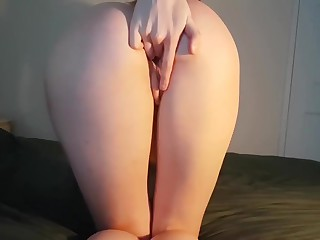 ***FIRST Unique VIDEO*** Provide Teen Post Warm-up Orgasm (Perfect ASS!) - DLE