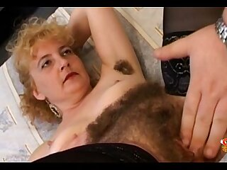 Hairy Pussy is rub-down the Best!