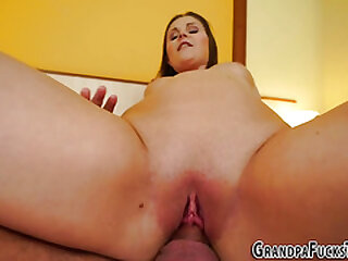 Adolescence pussy fingered unconnected with daddy