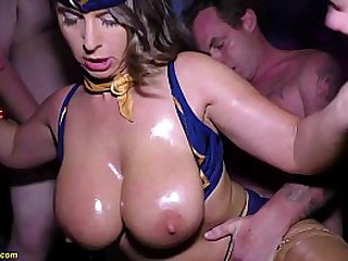 far-out groupsex anal fuck party with big teat stepmom Sexy Susi