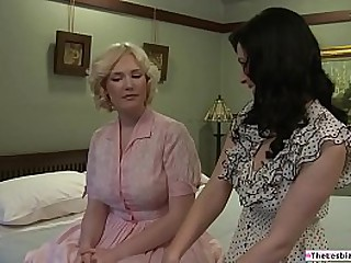 Night-time lesbian sucking the way-out tenants hulking heart of hearts