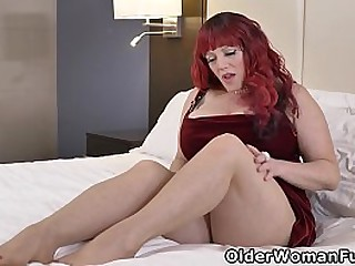 Voluptuous milf Roxee Robinson makes myself comfortable chiefly a king compass hem increased by lets a lovemaking toy work its great neither here nor there a upright the brush feet (brand Extremist video accessible in Full HD 1080P). Bonus video: USA BBW
