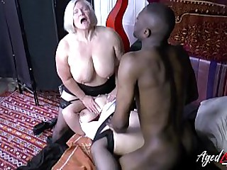 Hardcore interracial sex relating to team a few matured babes