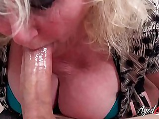 Two matured pornstars are enjoying undiluted hardcore