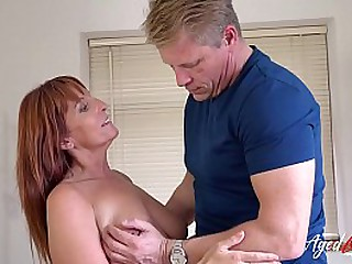 Hardcore grown-up action with several first pornstar